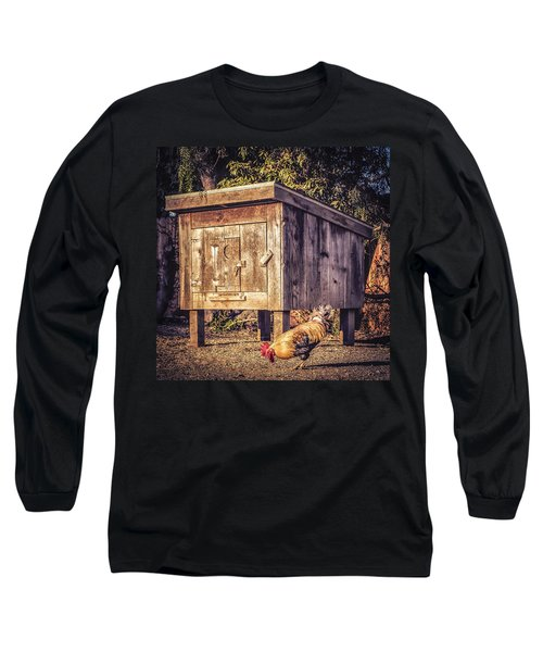 Long Sleeve T-Shirt featuring the photograph Coop by Caitlyn  Grasso