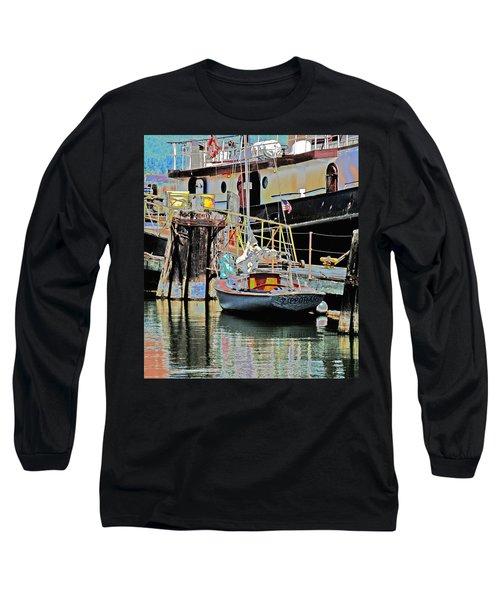 Coos Bay Harbor Long Sleeve T-Shirt