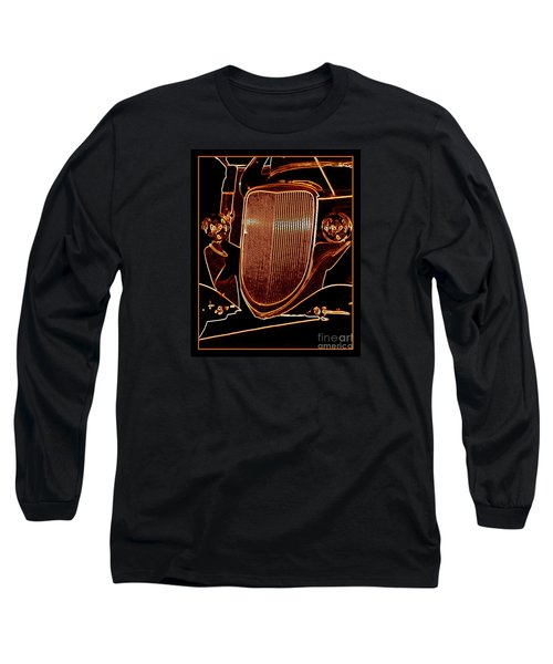 Long Sleeve T-Shirt featuring the photograph Copper Works by Bobbee Rickard