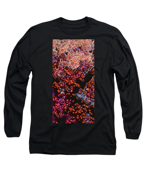 Long Sleeve T-Shirt featuring the digital art Copperglow 1 by Stephanie Grant