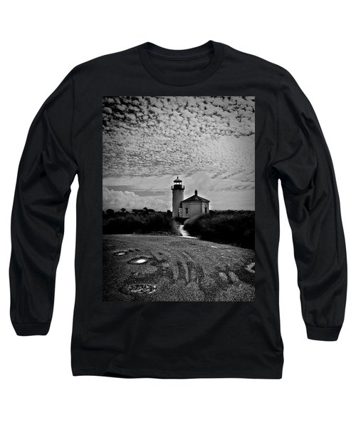 Coquille River Lighthouse Long Sleeve T-Shirt by Melanie Lankford Photography