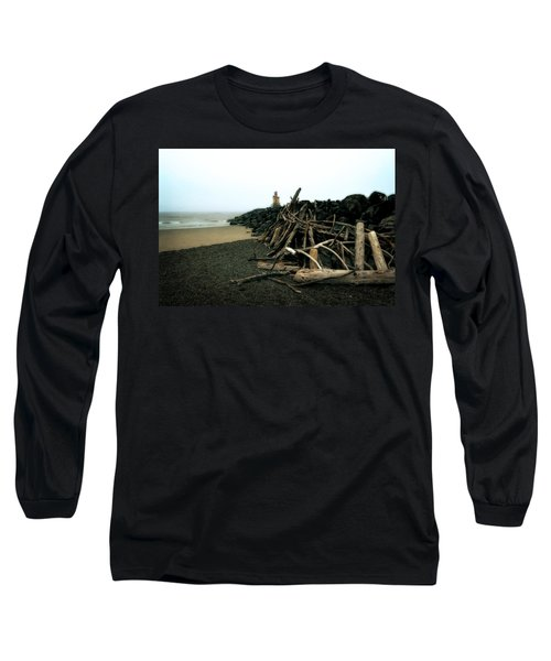 Coquille River South Jetty Long Sleeve T-Shirt
