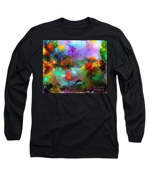 Coral Reef Impression 1 Long Sleeve T-Shirt by Hazel Holland