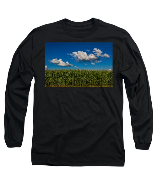 Corn Field Long Sleeve T-Shirt