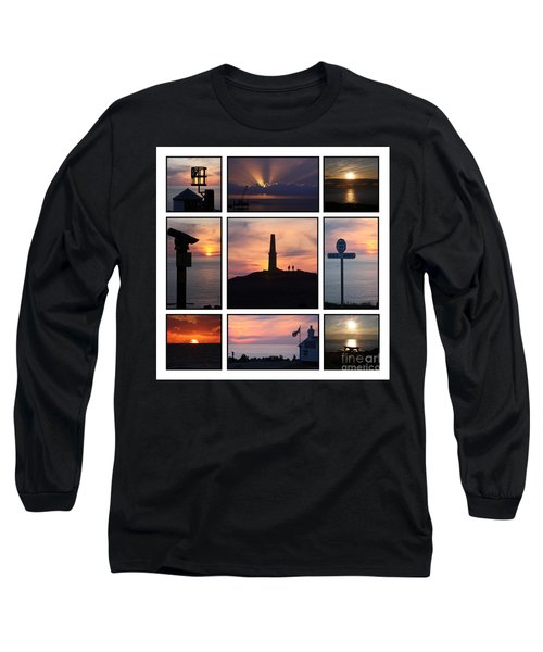 Long Sleeve T-Shirt featuring the photograph Cornish Sunsets by Terri Waters