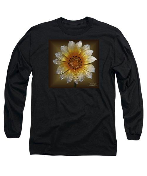 Cornsilk Long Sleeve T-Shirt by Shirley Mangini