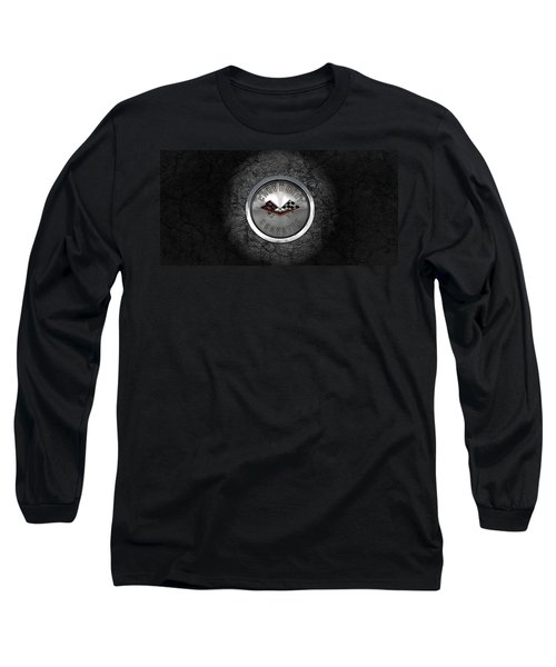 Corvette Emblem Long Sleeve T-Shirt