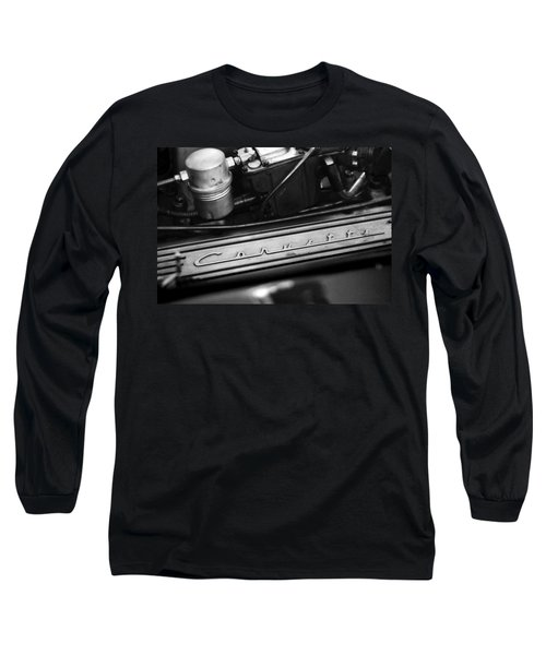 Corvette Valve Cover Long Sleeve T-Shirt
