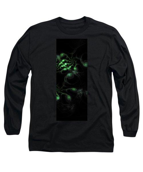 Cosmic Alien Eyes Original 2 Long Sleeve T-Shirt