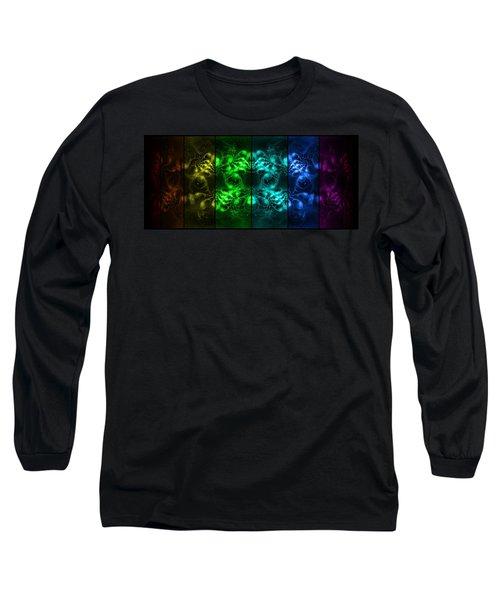 Cosmic Alien Eyes Pride Long Sleeve T-Shirt
