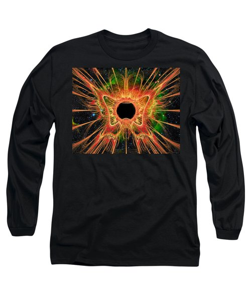 Cosmic Butterfly Phoenix Long Sleeve T-Shirt
