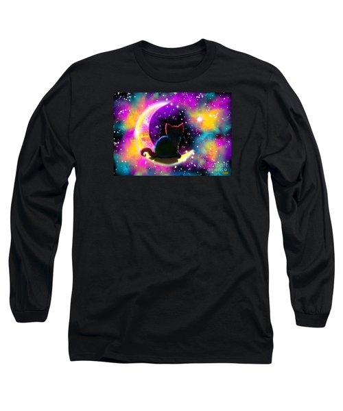 Cosmic Cat Long Sleeve T-Shirt