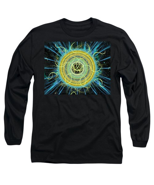 Cosmic Circle Fusion Long Sleeve T-Shirt