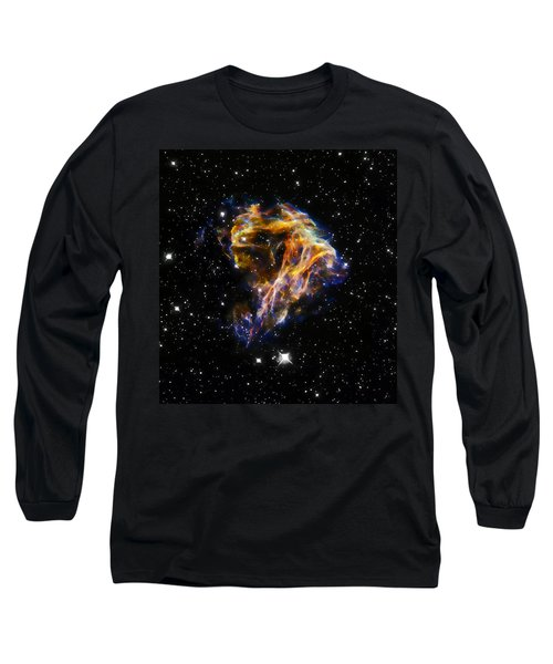 Cosmic Heart Long Sleeve T-Shirt by Jennifer Rondinelli Reilly - Fine Art Photography