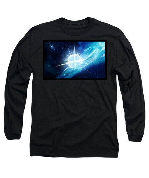 Cosmic Icestream Long Sleeve T-Shirt by Shawn Dall