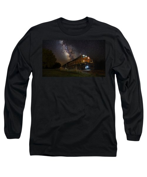 Cosmic Railroad Long Sleeve T-Shirt