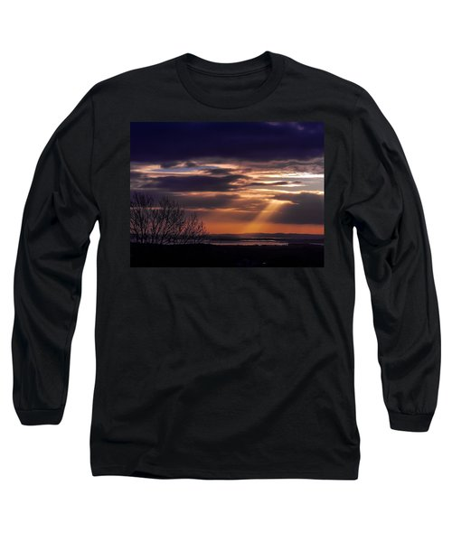Cosmic Spotlight On Shannon Airport Long Sleeve T-Shirt