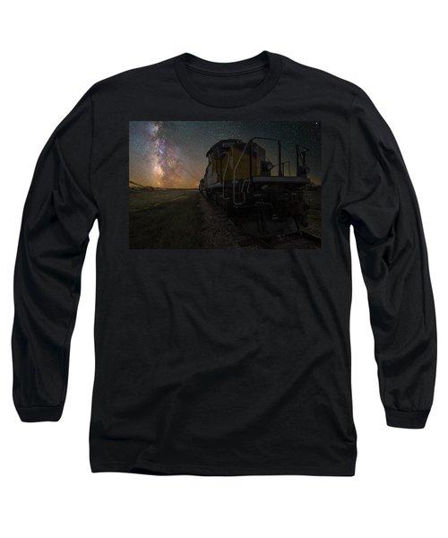 Cosmic Train Long Sleeve T-Shirt