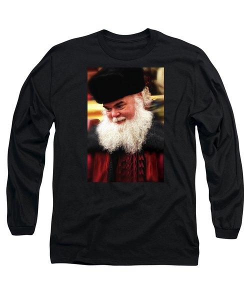 Cossack Santa Long Sleeve T-Shirt by Nadalyn Larsen