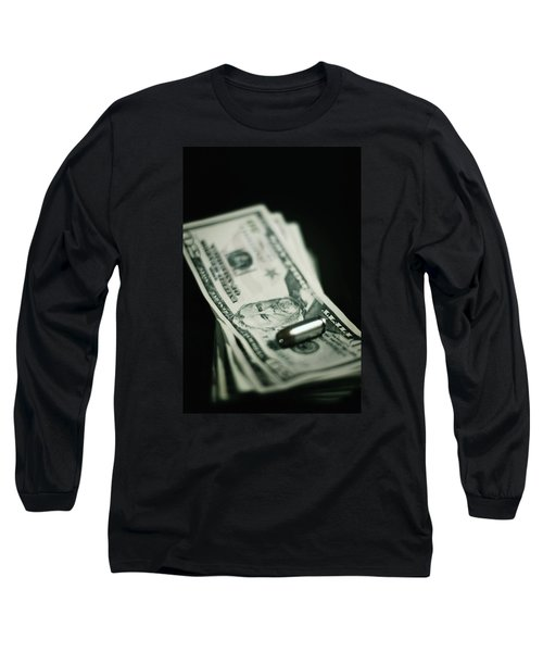 Cost Of One Bullet Long Sleeve T-Shirt