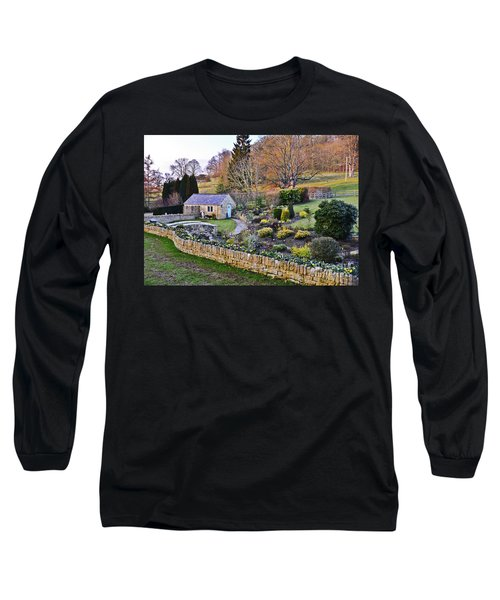 Cotswold Cottage Long Sleeve T-Shirt