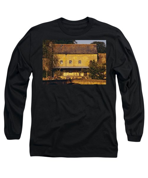 Cotswold Cottage Long Sleeve T-Shirt by Stuart Litoff