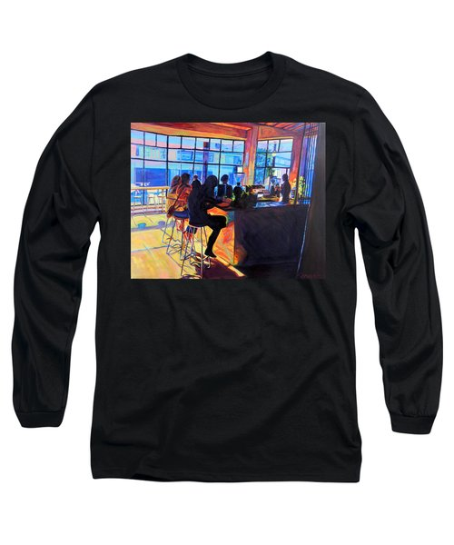 Counterpoint Long Sleeve T-Shirt by Bonnie Lambert