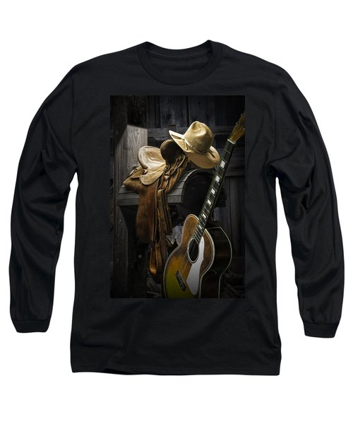 Country And Western Music Long Sleeve T-Shirt