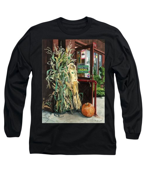 Country Store Long Sleeve T-Shirt by Barbara Jewell