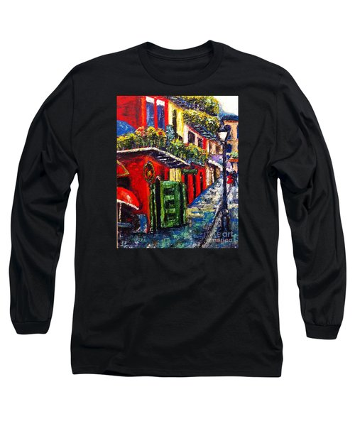 Couple In Pirate's Alley Long Sleeve T-Shirt