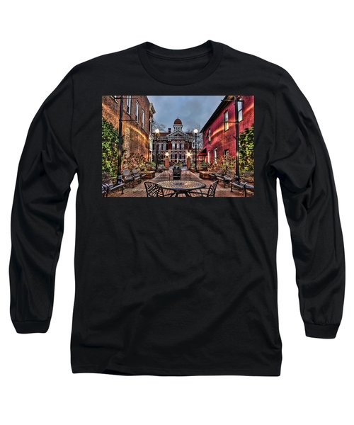 Courtyard Courthouse Long Sleeve T-Shirt