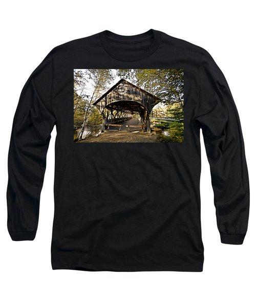 Covered Bridge Long Sleeve T-Shirt