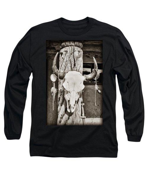 Cow Skull Long Sleeve T-Shirt