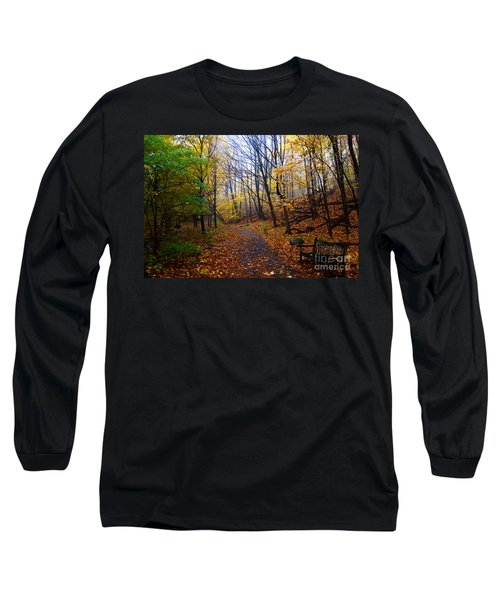 Cozy Fall Corner Long Sleeve T-Shirt