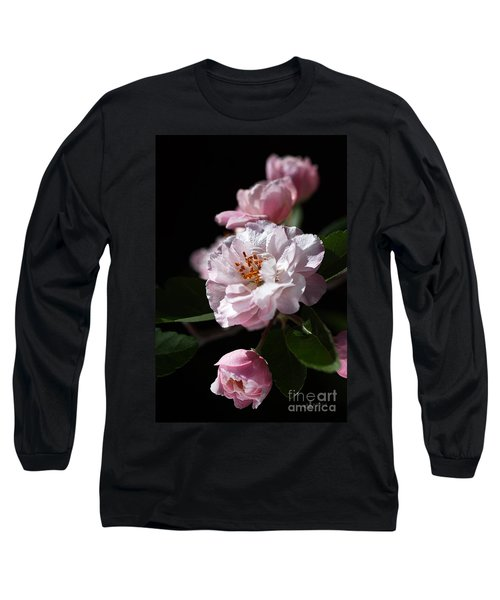 Crabapple Flowers Long Sleeve T-Shirt