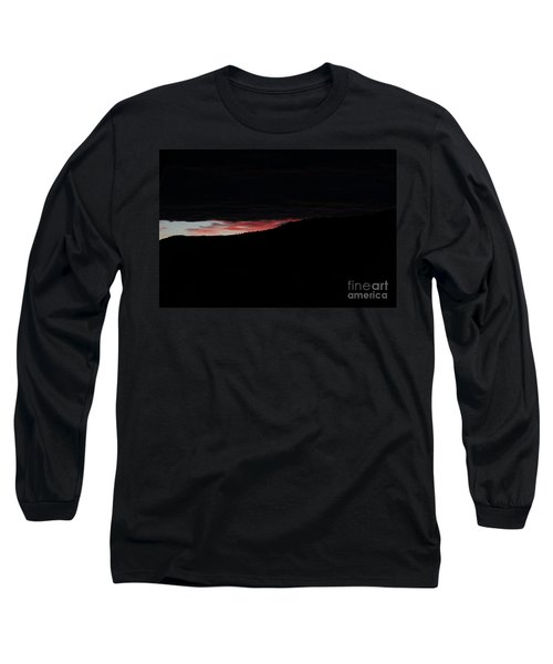 Long Sleeve T-Shirt featuring the photograph Crack Of Dawn by Ann E Robson