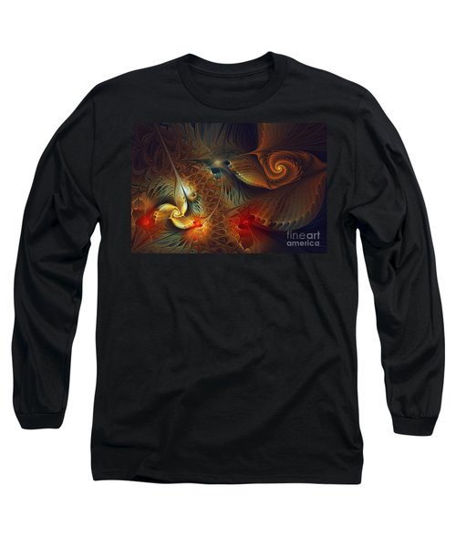 Creation-abstract Fractal Art Long Sleeve T-Shirt