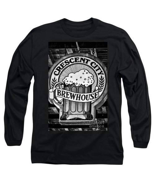 Crescent City Brewhouse - Bw Long Sleeve T-Shirt