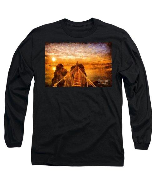Cross That Bridge Long Sleeve T-Shirt