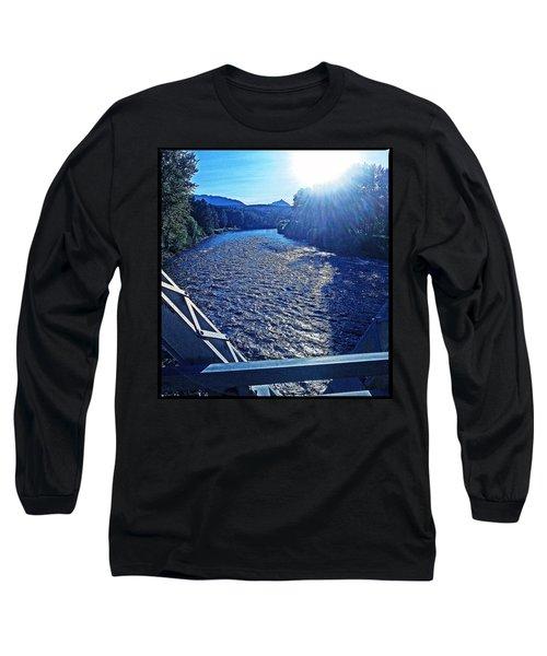 Long Sleeve T-Shirt featuring the photograph Crossing The Final Bridge Home by Joseph J Stevens