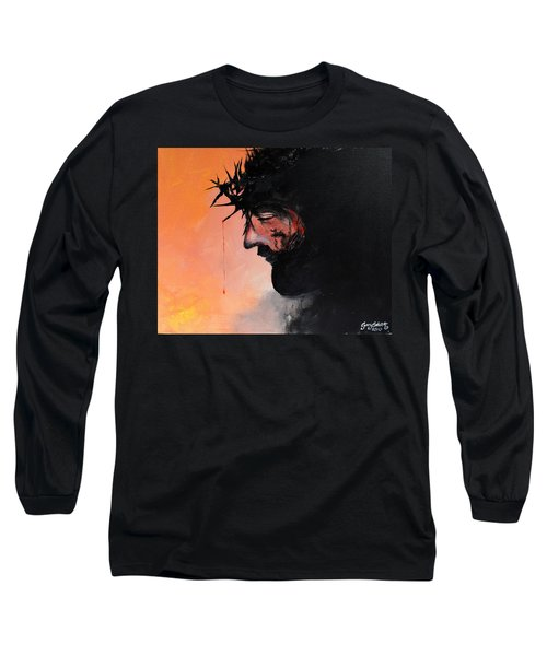 Blood Of The Redeemer Long Sleeve T-Shirt by Gary Smith