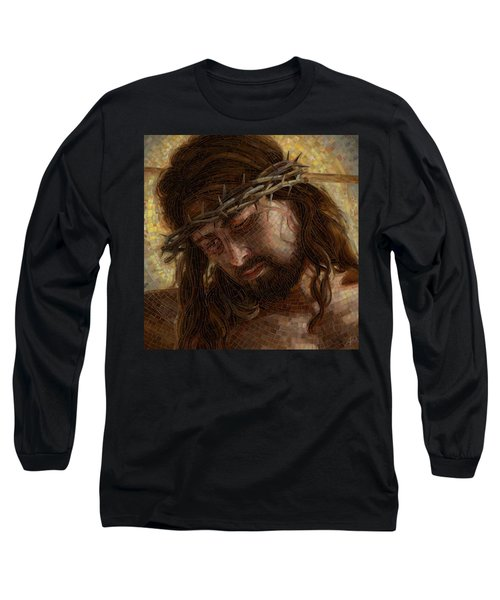 Crown Of Thorns Glass Mosaic Long Sleeve T-Shirt