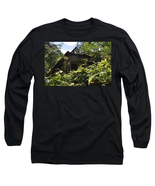 Crumbling Down Long Sleeve T-Shirt by Cathy Mahnke