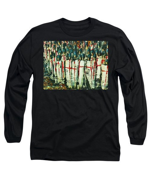 Crusade Shields 4. Long Sleeve T-Shirt