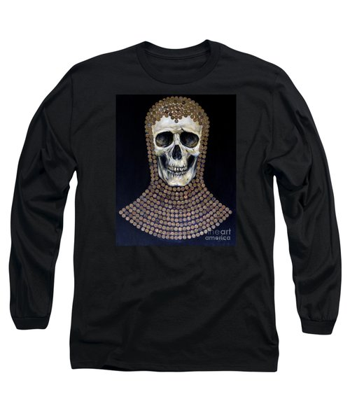 Crusader Long Sleeve T-Shirt by Arturas Slapsys