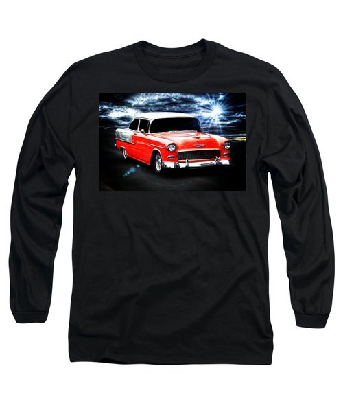 Vintage Long Sleeve T-Shirt featuring the photograph Cruze'n  by Aaron Berg