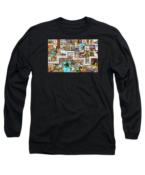 Cubana Long Sleeve T-Shirt by Joseph Sonday