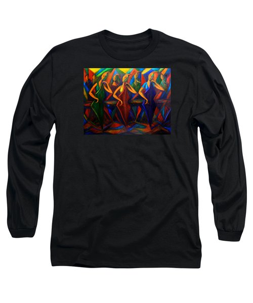 Cubism Music I Long Sleeve T-Shirt