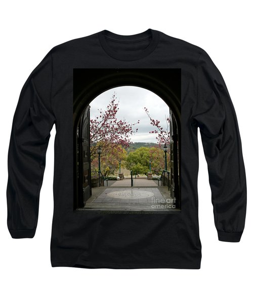 Culinary Institute Of America At Greystone Long Sleeve T-Shirt by Carol Lynn Coronios