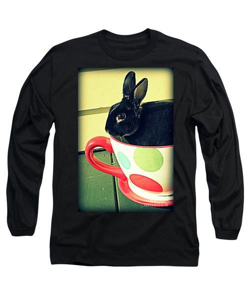 Cup O' Rabbit Long Sleeve T-Shirt